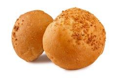 核桃小圆面包 免版税库存照片