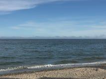 核桃海滩在Milford,康涅狄格 库存照片