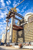 核电站大厦  免版税库存图片