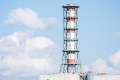 核电站管子 库存照片