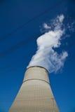 核电站Lingen 库存图片