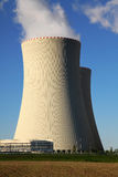 核电站Temelin在捷克欧洲 图库摄影