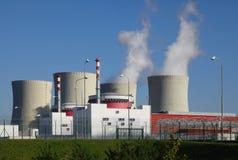核电站Temelin在捷克欧洲 库存照片