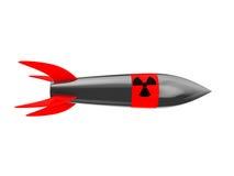 核的导弹 免版税库存照片
