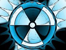 核的背景 免版税库存图片