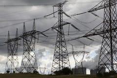 核的能源 免版税库存照片