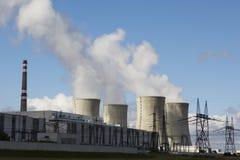 核的能源 库存图片
