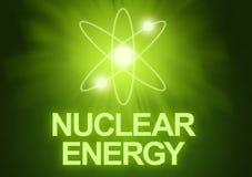 核的能源 库存照片