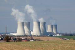 核能Dukovany 免版税库存照片