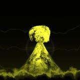 核蘑菇 库存图片