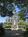 根据南卡罗来纳状态议院的非裔美国人的历史纪念碑 库存照片