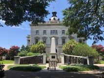 根据南卡罗来纳状态议院的非裔美国人的历史纪念碑 免版税库存图片