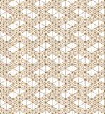 根据日本装饰品的无缝的样式久美子 免版税库存照片