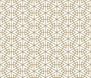 根据日本装饰品的无缝的样式久美子 免版税图库摄影