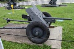 根据武器装备e的37 mm朴35/36反坦克枪德国 免版税图库摄影