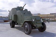 根据苏联卡车的防弹车ZIS-5 库存照片