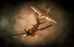 根据袭击珍珠港的空战|美国对 日本 库存图片