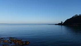 根西岛的风平浪静 免版税图库摄影