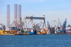 格丁尼亚造船厂  图库摄影