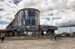 格丁尼亚水族馆大厦  波兰 免版税库存图片