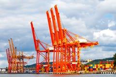 格丁尼亚 货物抬头克罗地亚海洋端口普拉 免版税库存图片