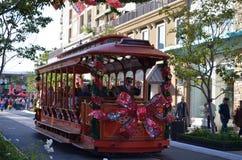 格伦代尔美国电车 免版税库存图片