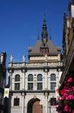 格但斯克买多市场老波兰城镇 库存照片