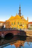 格但斯克大厅波兰城镇 免版税库存图片