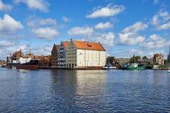 格但斯克波兰港口城市 库存照片