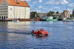 格但斯克波兰港口城市 免版税图库摄影