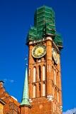 格但斯克老波兰城镇 免版税图库摄影