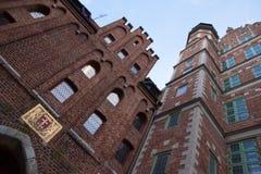 格但斯克老镇在波兰 免版税库存图片