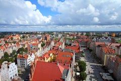 格但斯克,波兰 免版税库存照片