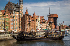 格但斯克,波兰 免版税库存图片