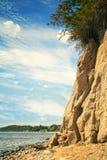 格但斯克Orlowo峭壁 免版税图库摄影