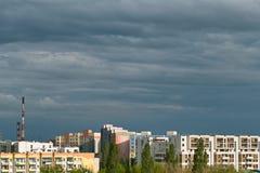 格但斯克Zaspa都市风景 免版税库存照片