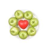 格兰尼史密斯苹果Apple 库存图片