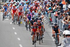 格兰披治Cycliste de蒙特利尔 图库摄影