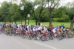 格兰披治Cycliste de蒙特利尔 免版税图库摄影