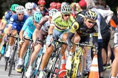 格兰披治Cycliste de蒙特利尔 库存图片