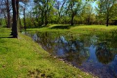 格兰特的运河 免版税库存照片