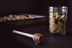 格兰诺拉麦片 免版税库存图片