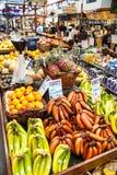 格兰维尔海岛公开市场在温哥华,加拿大 免版税库存照片