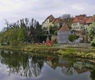 格利茨,德国 库存图片