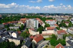 格利维采的看法在波兰 免版税库存图片