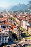 格勒诺布尔市在法国 免版税库存图片