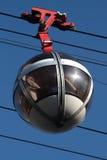 格勒诺布尔监狱缆车,泡影 免版税库存照片