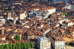 格勒诺布尔老镇,法国 库存照片