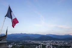 格勒诺布尔,法国 免版税图库摄影