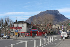 格勒诺布尔,法国 免版税库存图片